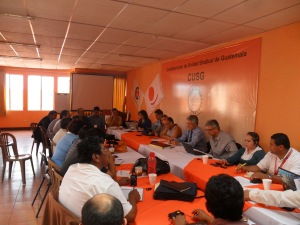 Visita con Delegada de OIT