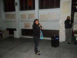 Vigilia frente la Corte de Constitucionalidad.